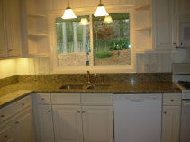 Marietta kitchen remodeling, granite countertop installation